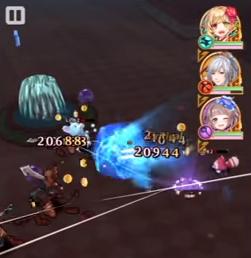 ユイ(双剣)スキル1は操作移動攻撃